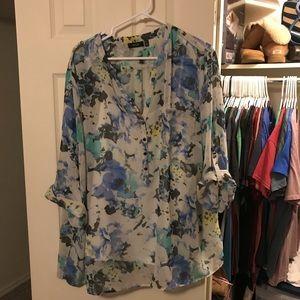 Apt 9 Floral blouse